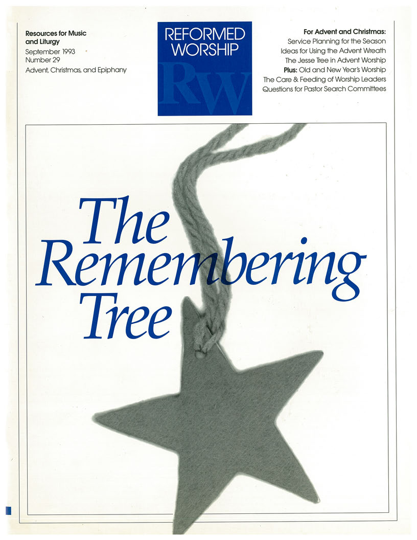 the remembering tree using the jesse tree to prepare ourselves