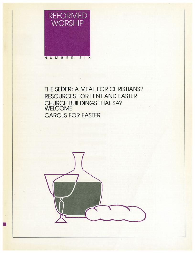 Symbols of lent reformed worship issue 6 december 1987 biocorpaavc