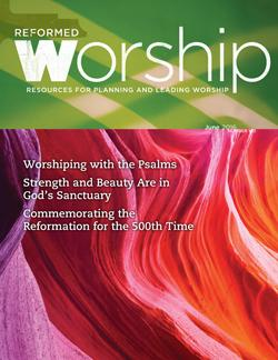 Reformed Worship issue cover
