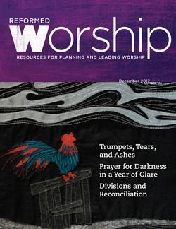 Reformed Worship Issue 126 cover