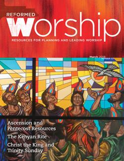 Reformed Worship Issue 127 cover