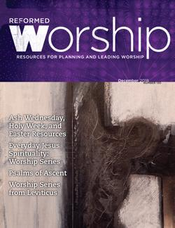 Reformed Worship Issue 130 cover